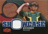 2006 Flair Showcase Stitches #CO Michael Collins Jsy