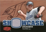 2006 Flair Showcase Showcase Stitches Jersey #RH Roy Halladay