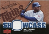 2006 Flair Showcase Stitches #TO Torii Hunter Jsy