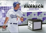 2006 Fleer Ultra Fine Fabrics #SG Shawn Green Jsy