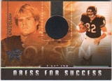 2007 Leaf Rookies and Stars Dress for Success Helmets #7 Greg Olsen 46/55