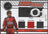 2008 Press Pass Four Wide #FWCE Carl Edwards 49/50