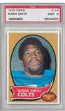 1970 Topps Football Bubba Smith PSA 9 (MINT) *4835