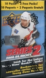 2008/09 Upper Deck Series 2 Hockey 12-Pack Box