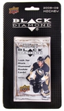 2008/09 Upper Deck Black Diamond Hockey Retail 3 Pack Blister