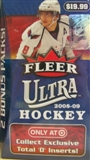 2008/09 Fleer Ultra Hockey 12-Pack Box
