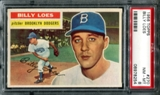 1956 Topps Baseball #270 Billy Loes PSA 8 (NM-MT) *8254