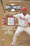 2008 Topps Triple Threads Baseball Hobby Box