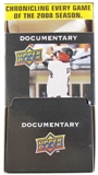 2008 Upper Deck Documentary Baseball 36 pack Box