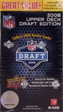 2008 Upper Deck Draft Edition Football 12-Pack Box