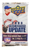 2008 Upper Deck 1st Edition Update Baseball Retail Pack