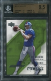 2004 Upper Deck Diamond Pro Sigs #91 Eli Manning Rookie Card BGS 9.5