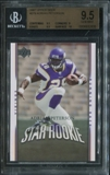 2007 Upper Deck #279 Adrian Peterson RC Rookie Card BGS 9.5 Gem Mint