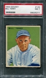 1933 Goudey Baseball #125 Bill Terry PSA 7 (NM) *5211