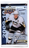 2009/10 Upper Deck Series 1 Hockey Retail Pack