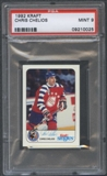 1992/93 Kraft Hockey Chris Chelios PSA 9 (MINT) *0025