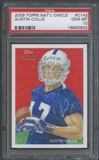 2009 Topps National Chicle #143 Austin Collie RC PSA 10 Gem Mint