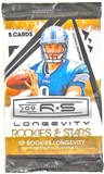 2009 Donruss Rookies & Stars Longevity Football Retail Pack