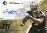 2008 SP Authentic Retail #171 DeMario Pressley Autograph Rookie