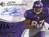2008 SP Authentic SP Star Signatures Autograph #SPSS11 Bernard Berrian