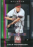 2008 Donruss Elite Extra Edition Autograph #115 Cole Rohrbough /719