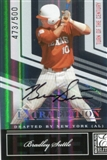 2007 Donruss Elite Extra Edition Signature Turn of the Century #48 Bradley Suttle/500