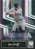 2007 Donruss Elite Extra Edition Signature Turn of the Century #36 Paul Kelly/500