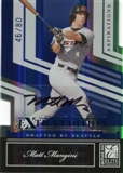 2007 Donruss Elite Extra Edition Signature Aspirations #30 Matt Mangini 46/80