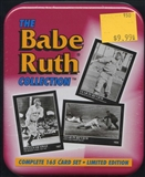 1992 Conlon Collection Babe Ruth Baseball Set