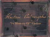 2011 Historic Autograph In Memory Of Update Baseball Hobby Box