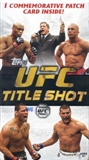2011 Topps UFC Title Shot 5-Pack Box
