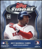 2011 Topps Finest Baseball Hobby Mini Box