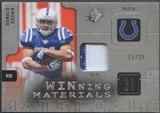 2009 Upper Deck SPX Football Donald Brown Rookie Patch #15/25