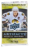 2010/11 Upper Deck Artifacts Hockey Retail Pack