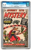 Journey Into Mystery #83 CGC 5.5 (C-OW) *1015305001*
