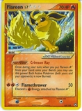 Pokemon Power Keepers Single Flareon Gold Star 100/108 - SLIGHT PLAY (SP)