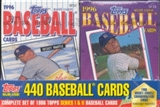 1996 Topps Cereal Box Baseball Factory Set (box)