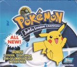 Pokemon TV Edition Johto League Champions Box (2001 Topps)