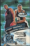1998/99 Press Pass Double Threat Basketball Hobby Box