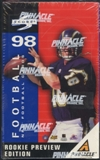 1998 Score Rookie Preview Football Hobby Box