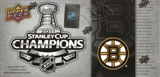 2010/11 Upper Deck Boston Bruins Stanley Cup Champions Box (Set)