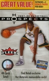 2007/08 Fleer Hot Prospects Basketball 12-Pack Box