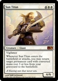 Magic the Gathering 2012 Single Sun Titan UNPLAYED (NM/MT)