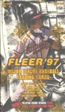 1997 Fleer Series 1 Baseball Hobby Box