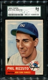 1953 Topps Baseball #114 Phil Rizzuto SGC 84 (NM 7) *0024