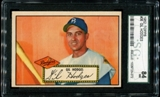 1952 Topps Baseball #36 Gil Hodges SGC 84 (NM 7) *3072