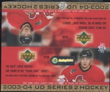 2003/04 Upper Deck Series 2 Hockey 24-Pack Box