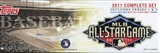 2011 Topps Factory Set Baseball All-Star Edition (Box)