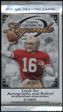 2011 Topps Gridiron Legends Football Hobby Pack