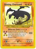 Pokemon Neo Destiny Single Shining Charizard 107/105 - MODERATE PLAY